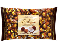 "Mâitre Truffout Pralines milk chocolate with cappuccino cream filling 1Kg. (2.2 lb.) "" Bulk chocolate, gourmet food supplies """