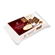 Tago peanut nugat wafers in cello pack 210 gr., 12/cs