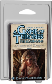 A Game of Thrones Board Game: A Dance with Dragons