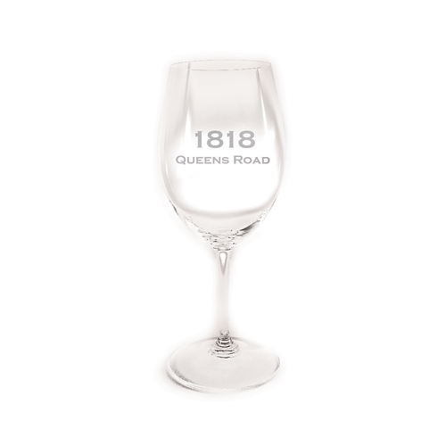 Custom Address RIEDEL All Purpose Wine Glass