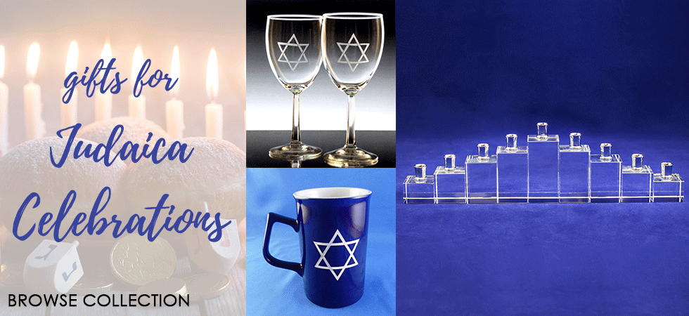 Gifts for Judaica Celebrations