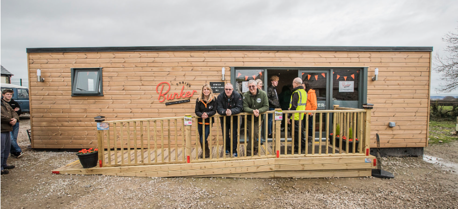 Garden Building as New Cafe, Animal Rescue - N.Wales