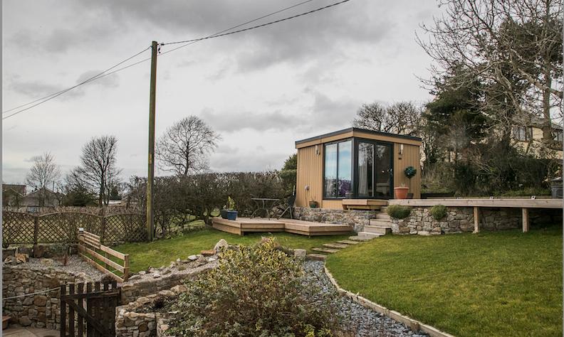 Garden Studio in Halkyn, North Wales