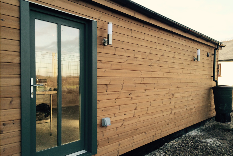 Garden Building for NCAR Animal Rescue, Flintshire, North Wales