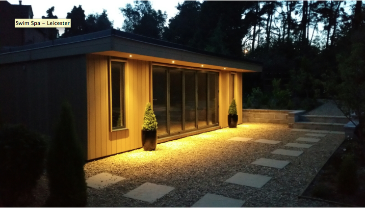 Swim spa leicester rubicon garden rooms for Rubicon garden rooms