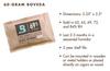 Boveda 72% RH Humidity Packet, Large 60 gram