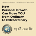 Cadre Conversation Training Audio: Personal Growth Plans