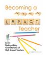 Becoming A High Impact Teacher Workbook (teachermanual1)