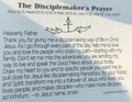 Disciplemakers Prayer Card