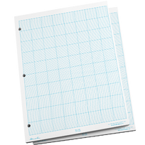 "Cross Sectioin 1/10"" Grid Pad"