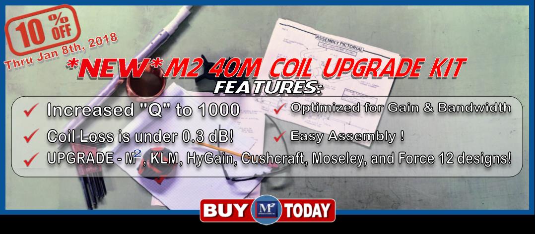 M2 40M Coil Upgrade Kit