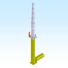 Mast, Hitch Mount HM64 (FGHM64)