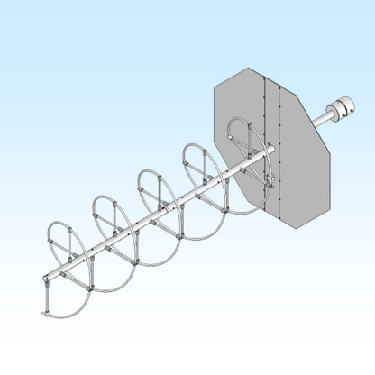 170-230-5, 170-230 MHz Helical