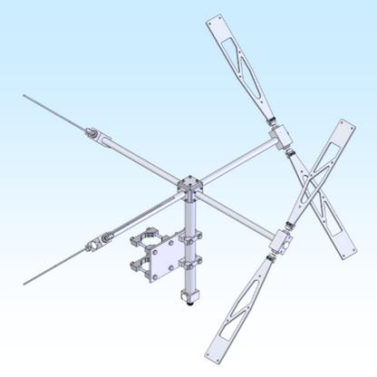 CPO233, 200-320 MHz Circular Omni Directional
