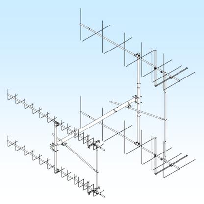 H-FRAME / T-BRACE KIT 436CP30/2MCP14 (FGHFTB436-2M-2X2 )