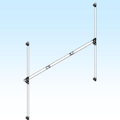 H-FRAME, 2M9SSB 2x2 (FGHF2M9SSB2X2)