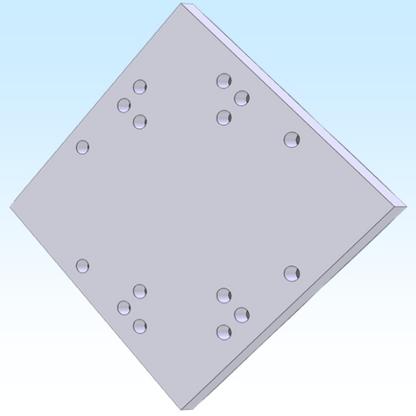"""B.T.M. 8"""" X 8"""" PLATE (M2APT8810)"""