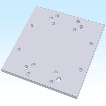 """B.T.M. 8"""" X 8"""" PLATE (M2APT0072)"""