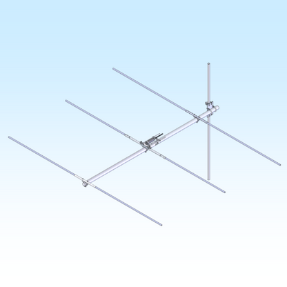 48.2-3, 48.10-48.20 MHz YAGI ANT (FG4823) Rear Mount
