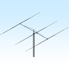 40M3FS-125, 7.0-7.3 MHz Tunable to 4 Segments