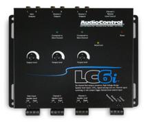AudioControl LC6i Black 6-Channel Line Output Converter