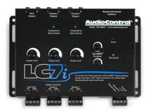 AudioControl LC7i Black 6-Channel Line Output Converter w/ accuBASS™