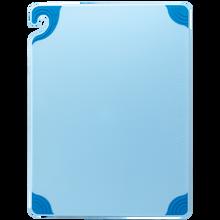 """San Jamar BLUE Saf-T-Grip Cutting Board 12"""" x 18"""" x 1/2"""""""