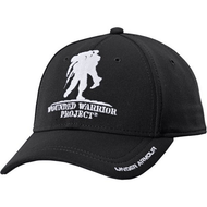 This is an Official Wounded Warrior Project® Licensed product     Unstructured fit conforms to your head for lower profile     Built-in HeatGear® sweatband wicks away sweat to keep you cool & dry     Adjustable snap closure in the back     Polyester