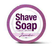 Lavender Shave Soap, 5 oz.