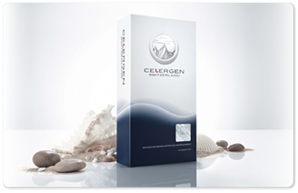 Celergen  300.00 for 30 day supply.   BioDNA Cellular Marine Complex (highly polymerized) is a marine substance that is well absorbed and perfectly tolerated in strong doses.