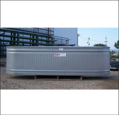 Behlen Galvanized Trough 2 ft x 2 ft x 8 ft, (In Store Only)