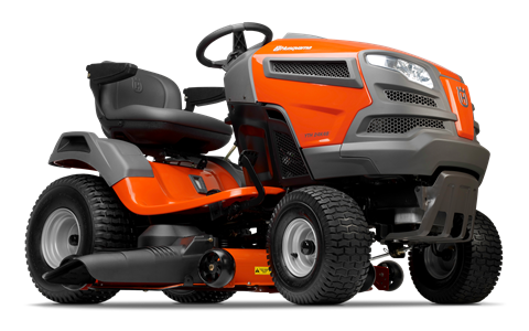 Husqvarna's yard tractors offer premium performance with quality results. Their compact size makes them easy to maneuver and require less space for storage. Features such as fender-mounted cutting height adjustment, adjustable seat and an ergonomic steering wheel make these tractors simple and comfortable to operate. All tractors feature hydrostatic transmissions for smooth, variable forward and reverse speed. Air Induction mowing technology improves airflow within the deck, ensuring a clean, consistent cut every time. For added versatility, all models can be equipped with a range of towable accessories and mulch kit for effective lawn fertilization.