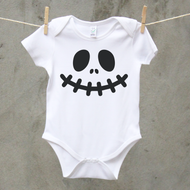 Personalised 'Halloween' Babygrow