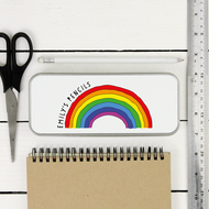 Personalised 'Rainbow' Pencil Case