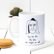Star Wars 'Obi Wan Who Taught Me Well' Teachers Mug