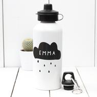 Personalised 'Cloud' Water bottle