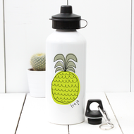 Personalised 'Pineapple' Water bottle