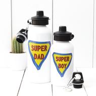 Personalised 'Super Man' Water bottle