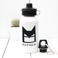 Personalised 'Batman' Water bottle