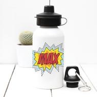 Personalised 'Pop Art' Water bottle