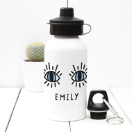 Personalised 'Eyes' Water bottle