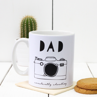 Personalised 'Hobby Hand Drawn' Mug