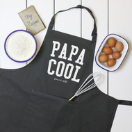 Personalised 'Papa Cool' Apron