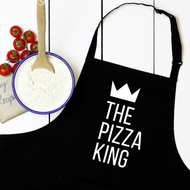 Personalised 'King or Queen' Apron