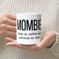 Personalised 'Mombie' Mug
