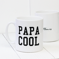 Personalised 'Papa Cool' mug