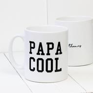 Personalised 'Papa Cool' mug