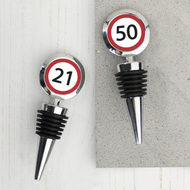 Personalised 'Road Sign'  Bottle Stopper