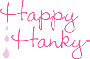 Happy Hanky women's handkerchief collection logo