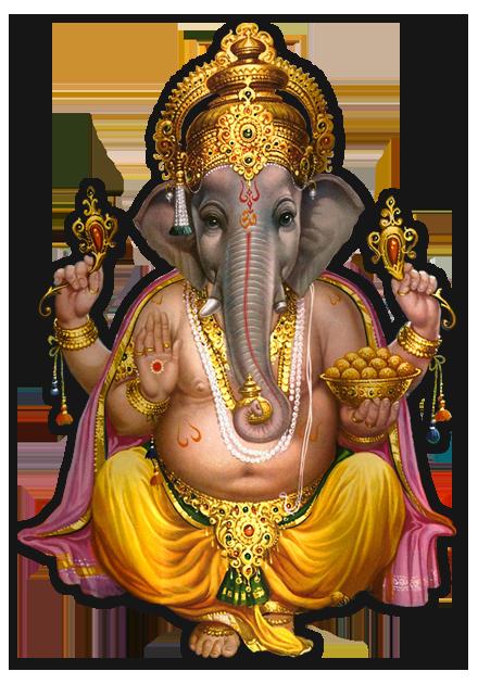 Happy Shaman Ganesha Image